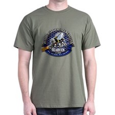 USN Navy Seabees Bee We Build T-Shirt