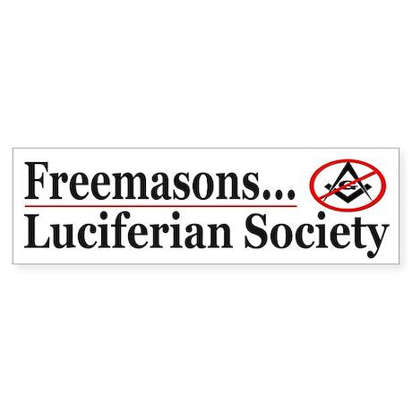 Luciferian Society - Sticker (Bumper)