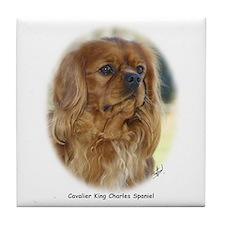 Cavalier King Charles Spaniel 9K27D-17 Tile Coaste
