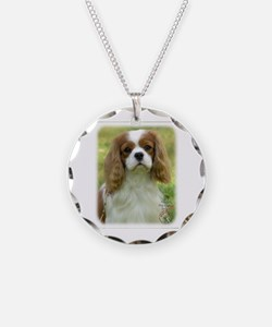 Cavalier King Charles Spaniel 9P032D-036 Necklace