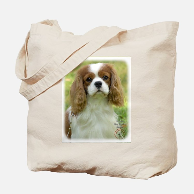 Cavalier King Charles Spaniel 9P032D-036 Tote Bag