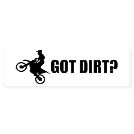 Dirt Bike Designs Bumper Sticker