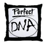 DNA Throw Pillow