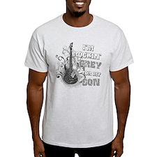I'm Rockin' Grey for my Son T-Shirt