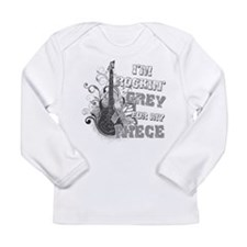 I'm Rockin' Grey for my Niece Long Sleeve Infant T