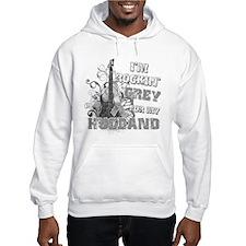 I'm Rockin' Grey for my Husba Hoodie Sweatshirt