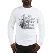 I'm Rockin' Grey for my Friend Long Sleeve T-Shirt