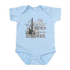 I'm Rockin' Grey for my Broth Infant Bodysuit