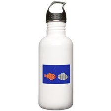 Submarine and Fish Water Bottle