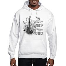 I'm Rockin' Grey for my Dad Hoodie Sweatshirt