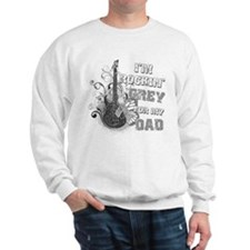 I'm Rockin' Grey for my Dad Sweater