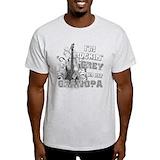 Rockin grey for grandpa Tops