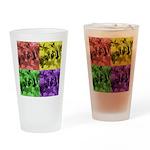 Pop Art Drinking Glass