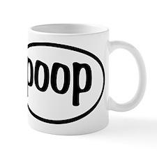 Poop Oval Mug