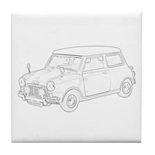 Mini Cooper 1962 Tile Coaster