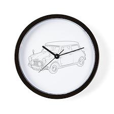 Mini Cooper 1962 Wall Clock