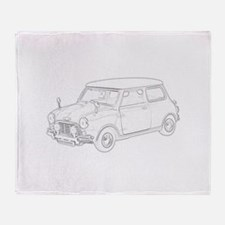 Mini Cooper 1962 Throw Blanket