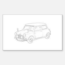 Mini Cooper 1962 Decal
