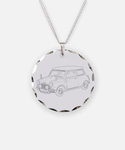 Mini Cooper 1962 Necklace Circle Charm