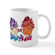 Sweet Love Cupcakes Mug