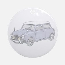 Mini Cooper 1962 -colored Ornament (Round)