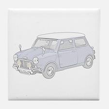 Mini Cooper 1962 -colored Tile Coaster