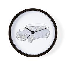 Mini Cooper 1962 -colored Wall Clock
