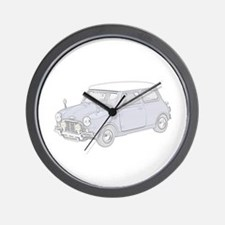 Mini Cooper 1962 -colored Wall Clock