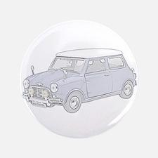 """Mini Cooper 1962 -colored 3.5"""" Button"""