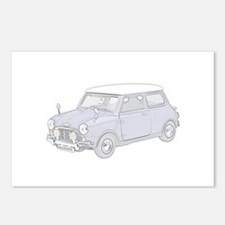 Mini Cooper 1962 -colored Postcards (Package of 8)