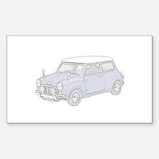 Mini Cooper 1962 -colored Decal