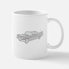 Plymouth Fury 1958 -colored Mug