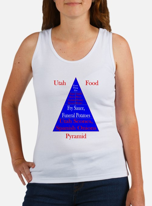 Utah Food Pyramid Women's Tank Top