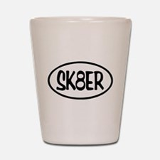 SK8ER Oval Shot Glass