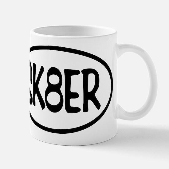 SK8ER Oval Mug