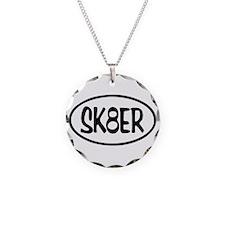 SK8ER Oval Necklace
