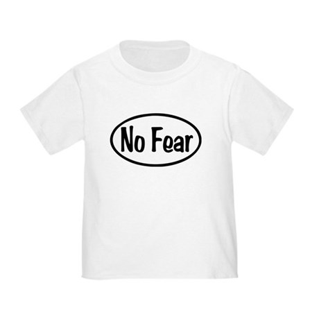 No Fear Oval Toddler T-Shirt
