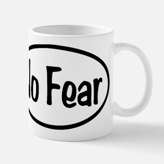 No Fear Oval Mug
