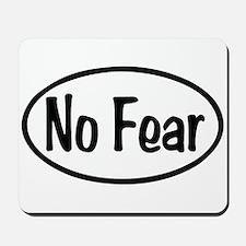 No Fear Oval Mousepad