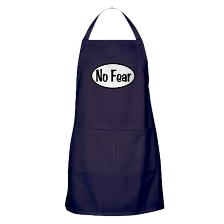 No Fear Oval Apron (dark)