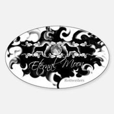 "Rottweiler ""Magic Swirl"" Decal"