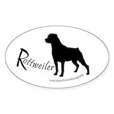 "Rottweiler ""Shadow"" Decal"