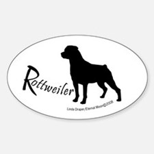 "Rottweiler ""Shadow"" Decal"