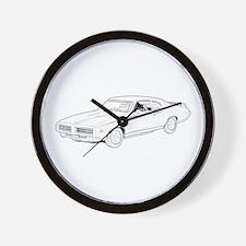 1969 Pontiac GTO Judge Wall Clock