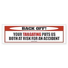 TG 31 Back Off! Bumper Bumper Sticker