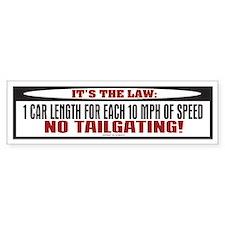 TG 32 Its The Law 2 Bumper Bumper Bumper Sticker