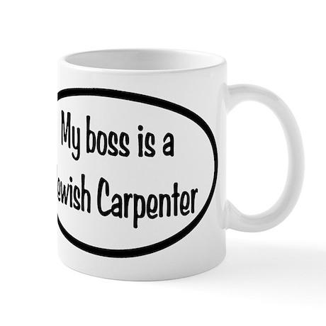 My Boss Oval Mug