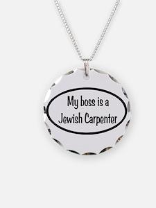 My Boss Oval Necklace