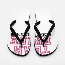 Team Bride: Maid of Honor Flip Flops