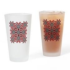 Folk Design 8 Drinking Glass